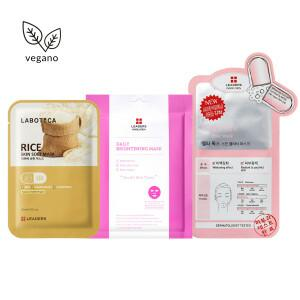kit sheet masks iluminador revitalizante