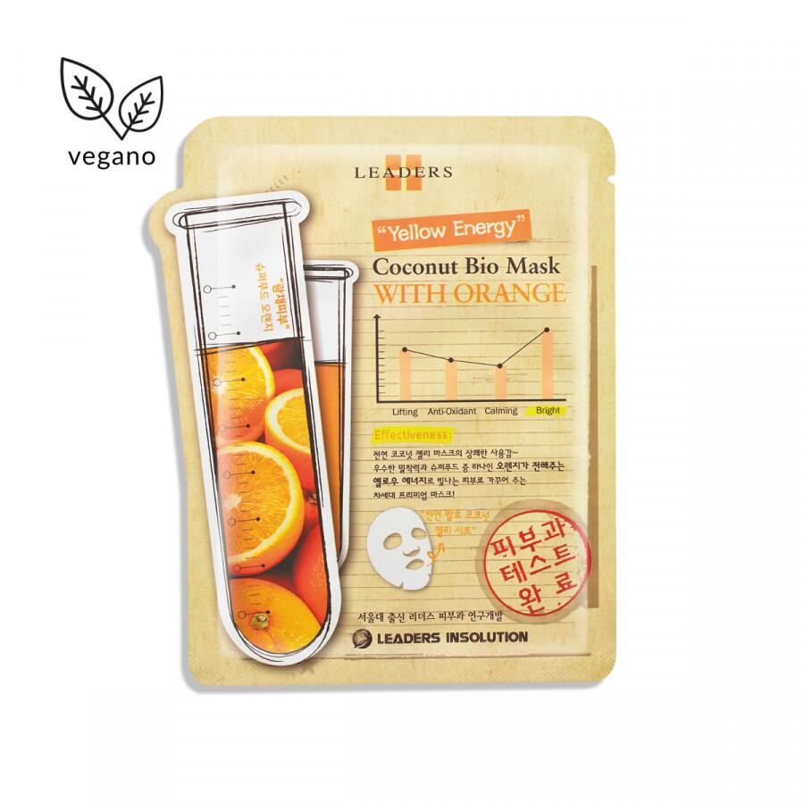 kollab Leaders Insolution Coconut Bio Mask with Orange Mask